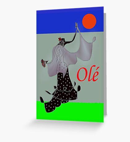 Olé! Greeting Card