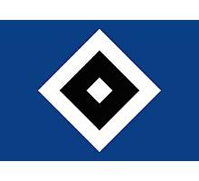 Hamburger SV Badge - Bundesliga Photographic Print