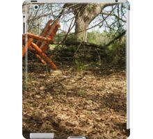 The orange chair  iPad Case/Skin