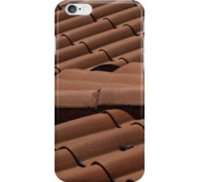 Shingles on a Roof iPhone Case/Skin