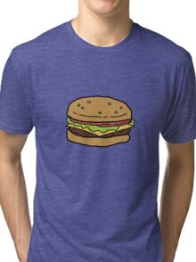 Bobs Burgers- Burger Tri-blend T-Shirt