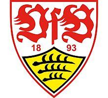 VFB Stuttgart Badge - Bundesliga Photographic Print