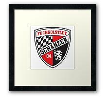 Ingolstadt Badge - Bundesliga Framed Print