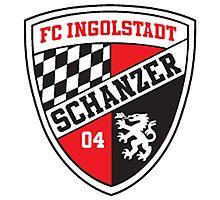 Ingolstadt Badge - Bundesliga Photographic Print