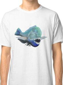 Blue to the bone (for light backgrounds) Classic T-Shirt