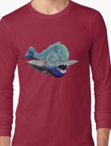 Blue to the bone (for light backgrounds) T-Shirt