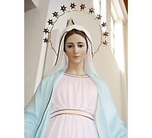 Mary of Medjugorje Photographic Print
