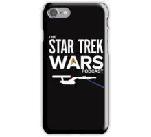 Star Trek Wars Podcast Logo (Transparent Background) iPhone Case/Skin