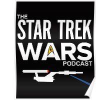 Star Trek Wars Podcast Logo (Transparent Background) Poster