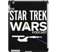 Star Trek Wars Podcast Logo (Transparent Background) iPad Case/Skin