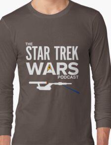 Star Trek Wars Podcast Logo (Transparent Background) Long Sleeve T-Shirt