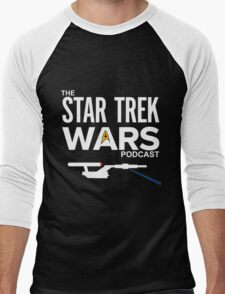 Star Trek Wars Podcast Logo (Transparent Background) Men's Baseball ¾ T-Shirt
