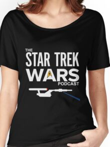 Star Trek Wars Podcast Logo (Transparent Background) Women's Relaxed Fit T-Shirt