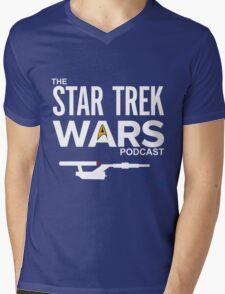 Star Trek Wars Podcast Logo (Transparent Background) Mens V-Neck T-Shirt