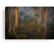 Smoke Gets In My Eyes #1 - Painted - The HDR Experience Canvas Print