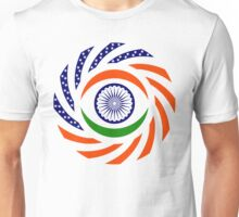 Indian American Multinational Patriot Flag Series Unisex T-Shirt