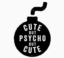 Cute but psycho but cute Women's Fitted Scoop T-Shirt