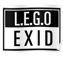 LEGO - EXID Poster
