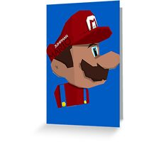 Jumpman Mario Greeting Card