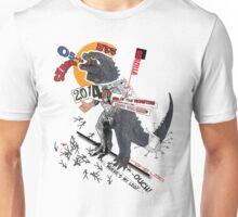 Gods Illa in Dada style Unisex T-Shirt