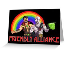 Friendly Alliance Greeting Card