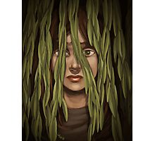 Willow Girl Photographic Print