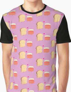 Bread loves jam Graphic T-Shirt