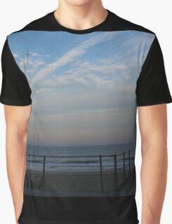 Sunset on Beach Graphic T-Shirt