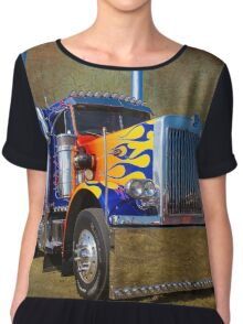 Optimus Peterbilt Chiffon Top