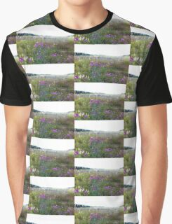 Field of Thistle Graphic T-Shirt