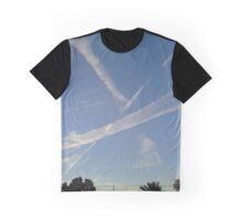Sky Streaks Graphic T-Shirt