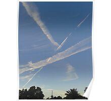 Sky Streaks Poster