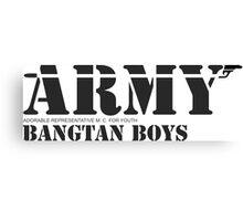 ARMY Bangtan Boys Canvas Print