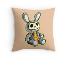 Bunny tails from the Crypt Throw Pillow