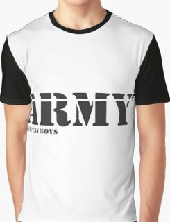 ARMY Bangtan Boys Graphic T-Shirt