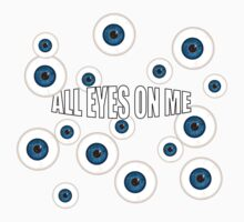 All Eyes On Me One Piece - Short Sleeve