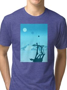 Snow walker Tri-blend T-Shirt