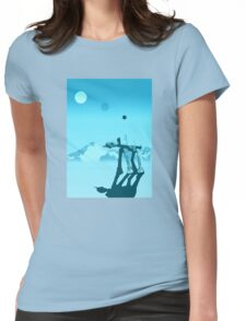 Snow walker Womens Fitted T-Shirt