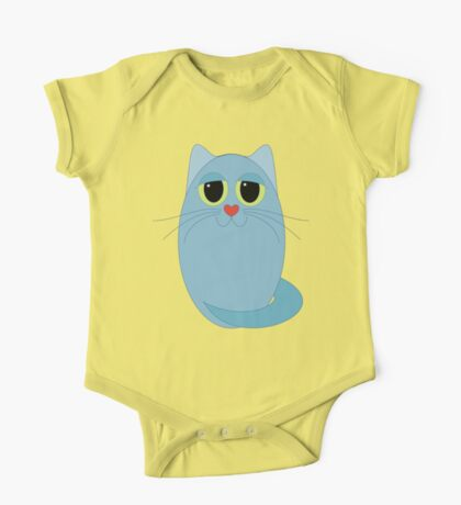 CAT BLUE ONE One Piece - Short Sleeve