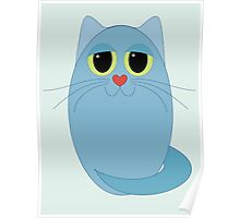 CAT BLUE ONE Poster