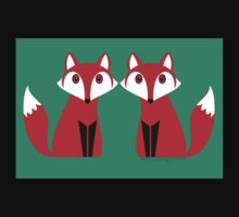 TWO FOXES Kids Tee