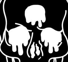 Three Eyed Skull  Sticker