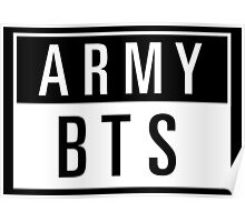army - BTS Poster