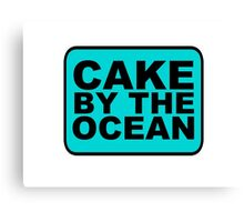 Cake by the Ocean Canvas Print
