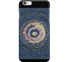 Vinca Zen Garden iPhone Case/Skin