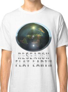 Research Flat Earth Classic T-Shirt