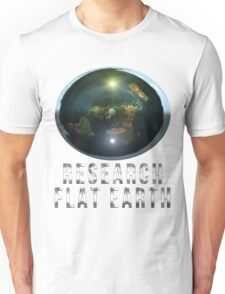 Research Flat Earth Unisex T-Shirt