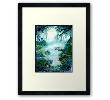 Mystic Lake Framed Print