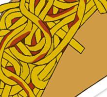 Spaghetti Tacos 2 Sticker
