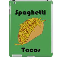 Spaghetti Tacos 2 iPad Case/Skin
